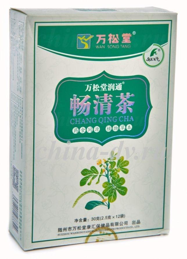 Кишечный чай Чан Цин для очищения организма